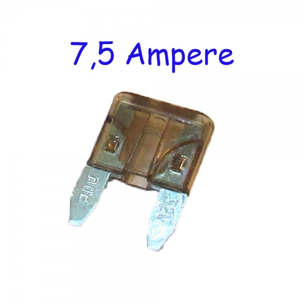 7,5 Ampere Mini-Sicherung Rabattartikel