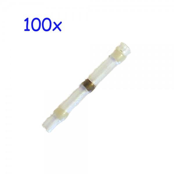 100 Lötverbinder weiss Rabattartikel