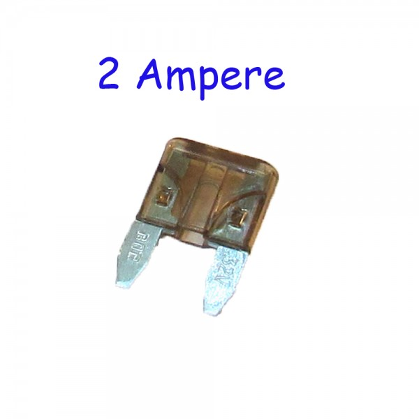 2 Ampere Mini-Sicherung Rabattartikel