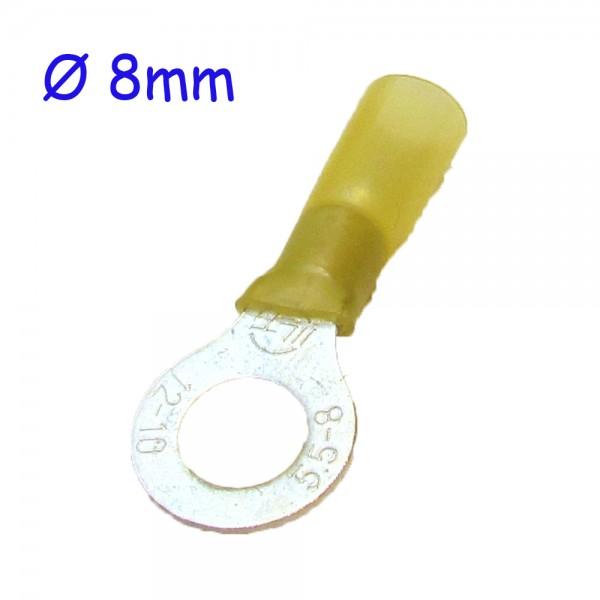 Ringkabelschuh gelb Ø 8mm Staffelpreise